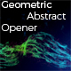Geometric Abstract Opener - VideoHive Item for Sale