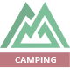 Camping Village - Campground Caravan & Tent Accommodation PSD - ThemeForest Item for Sale