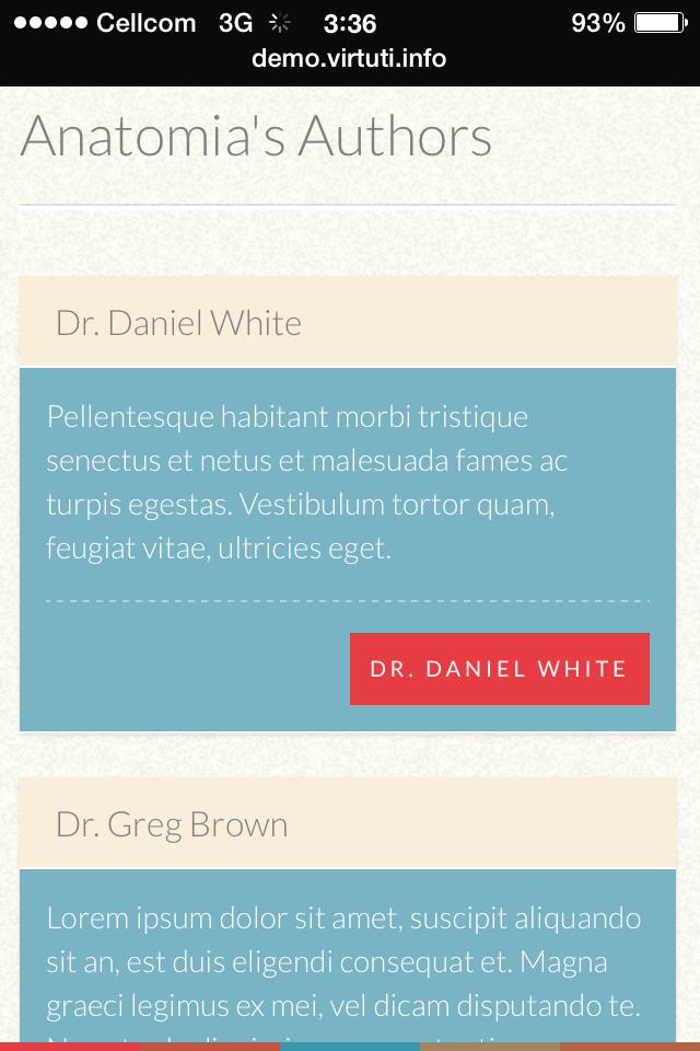 Anatomia–Simple Blog Or Magazine by virtuti | ThemeForest