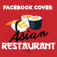 Facebook Timeline Covers - Asian Restaurant - GraphicRiver Item for Sale