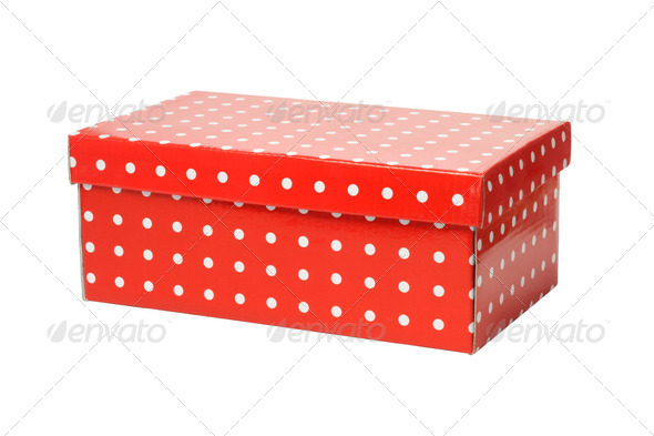 Red Gift Box - Stock Photo - Images