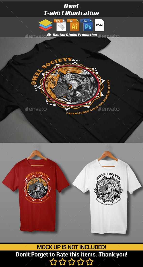 Owel - Sports & Teams T-Shirts