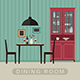 Dining Room Interior - GraphicRiver Item for Sale