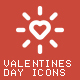 Valentine's Day 66 Icons - GraphicRiver Item for Sale