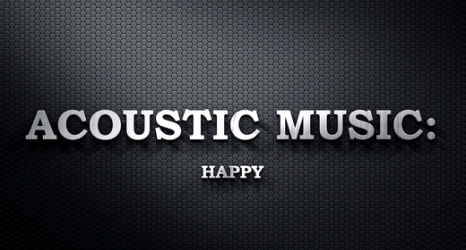 Acoustic Music - Happy