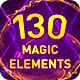 130 Magic Elements - VideoHive Item for Sale