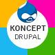 Koncept - Responsive Multi-Concept Drupal Theme - ThemeForest Item for Sale