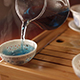 Tea Ceremony with Blue Tea Thailand Brewing - VideoHive Item for Sale