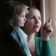 Mother Shows To The Daughter In a Window - VideoHive Item for Sale