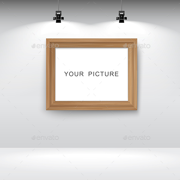 Room with Picture Frame - Man-made Objects Objects