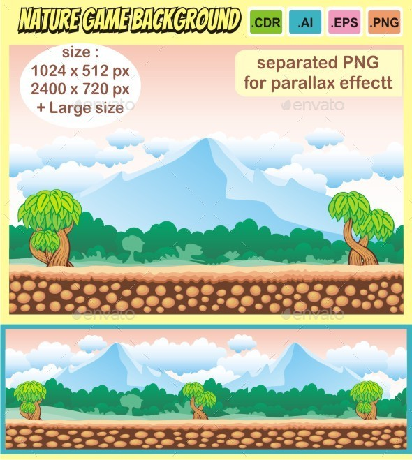 nature game background - Backgrounds Game Assets