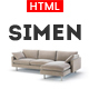 Simen - Responsive eCommerce Bootstrap Template Nulled