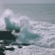 Ocean Waves Breaking On Rock - VideoHive Item for Sale