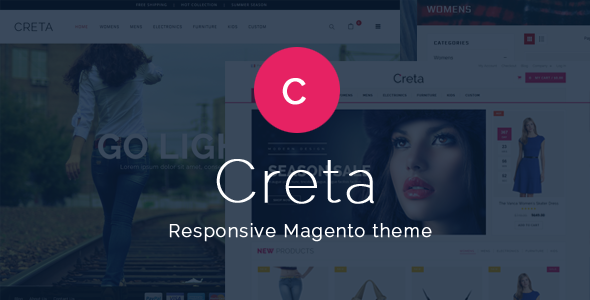 Creta – Advanced Responsive Magento Theme