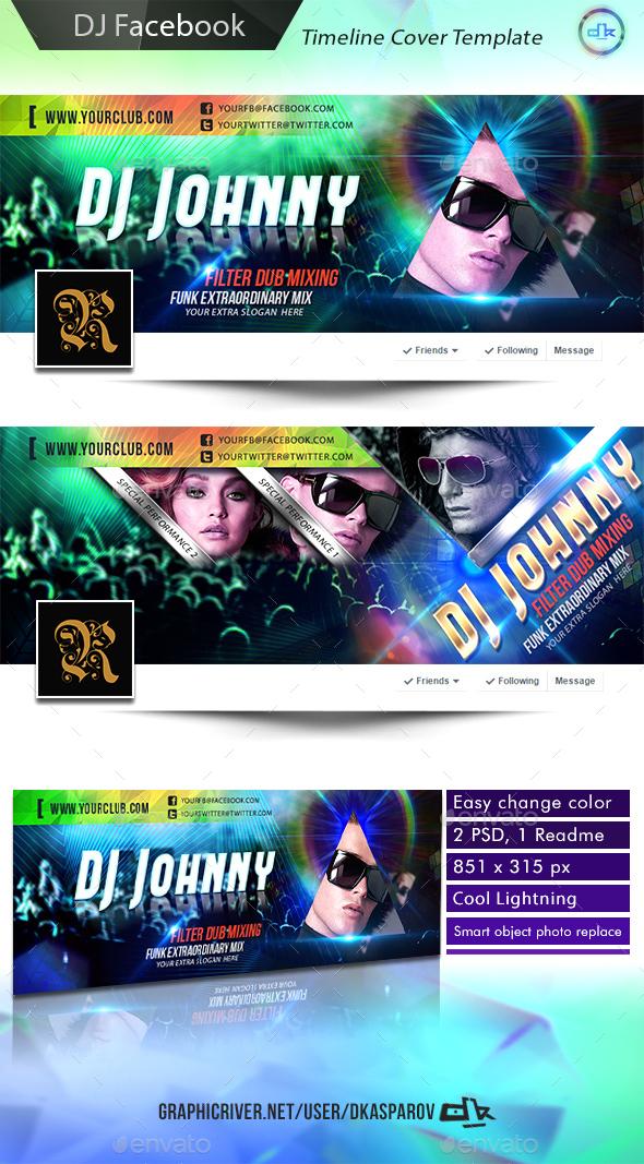 Facebook Cover Timeline DJ Edition - Facebook Timeline Covers Social Media