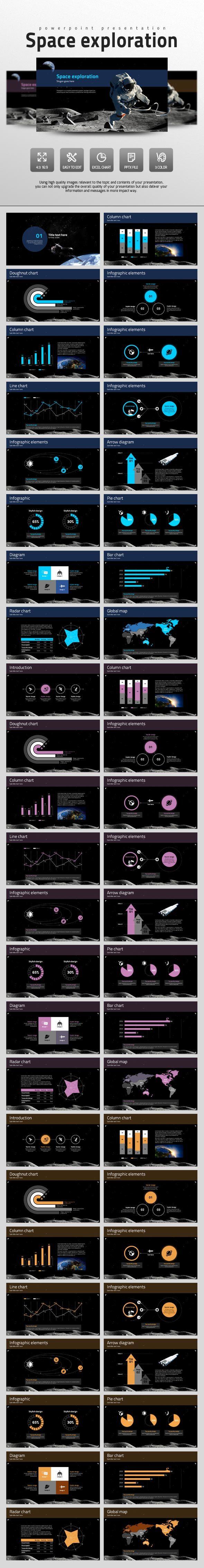 Space Exploration - PowerPoint Templates Presentation Templates