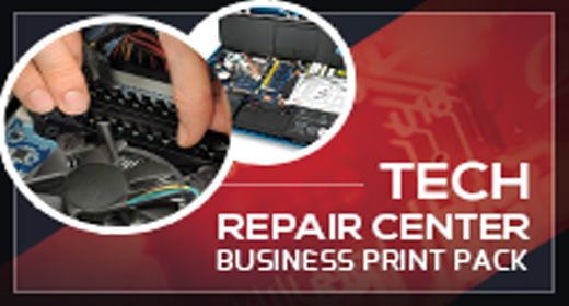 Tech Repair Center Print Templates Pack