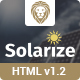 Solarize Multipurpose Small Business Html Template - ThemeForest Item for Sale