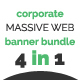 Massive Web Banner Bundle - GraphicRiver Item for Sale