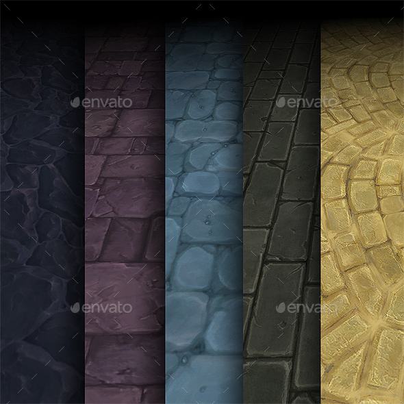 Texture Pack 01 - Game Assets