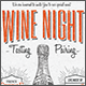 Vintage Wine Night Flyer/Poster - GraphicRiver Item for Sale