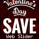 Valentine's Day slider - GraphicRiver Item for Sale