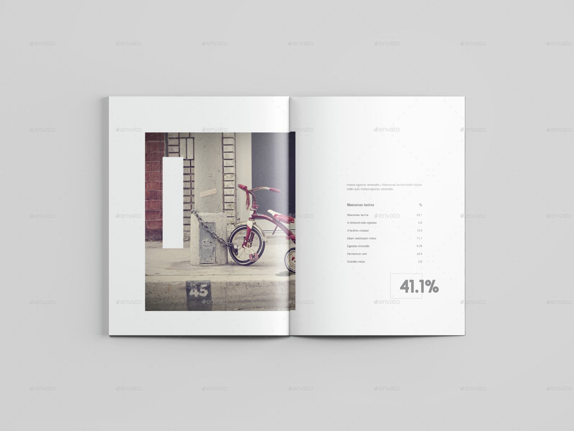 Letter Size Magazine Mockup by graphicpear | GraphicRiver