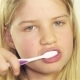 Girl Brushing Her Teeth - VideoHive Item for Sale