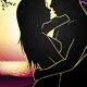 Silhouette Lovers and Sunset - GraphicRiver Item for Sale
