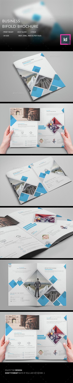 Business Bifold Brochure  - Corporate Brochures