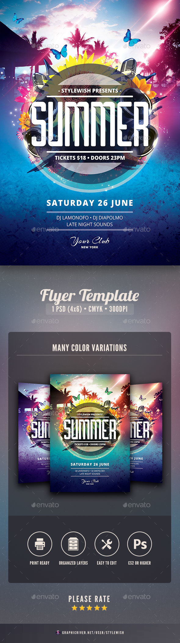 Summer flyer by stylewish graphicriver summer flyer saigontimesfo