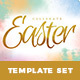 Easter Sunday Church Template Set - Celebrate - GraphicRiver Item for Sale