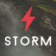 Storm - Creative Multi-Purpose WordPress Theme - ThemeForest Item for Sale