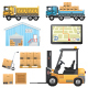 Logistic Icons - GraphicRiver Item for Sale