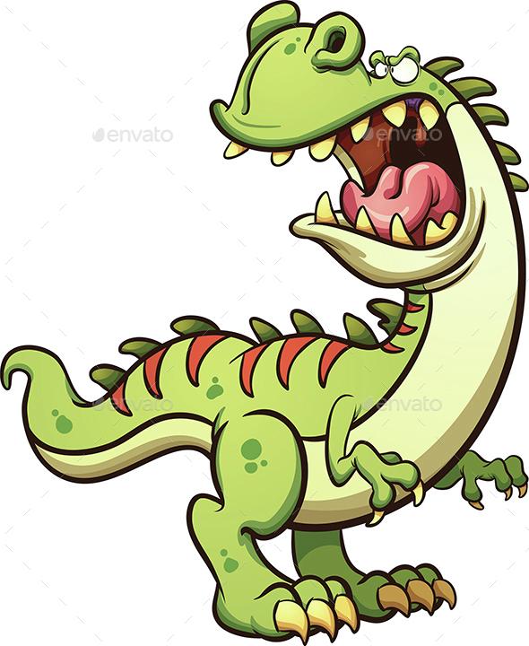 Roaring Tyrannosaurus - Animals Characters
