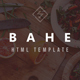 Bahe - Responsive One Page Portfolio Template - ThemeForest Item for Sale