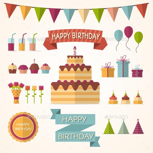 Party Elements - Birthdays Seasons/Holidays