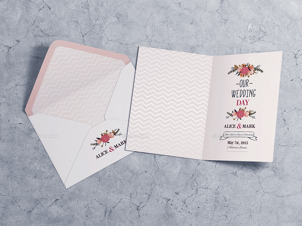 Invitation greeting card mockup vol2 by goner13 graphicriver invitation greeting card mockup vol2 2g stopboris Image collections