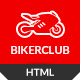 BikersClub - HTML Template - ThemeForest Item for Sale