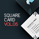 Square Business Card 6 - GraphicRiver Item for Sale