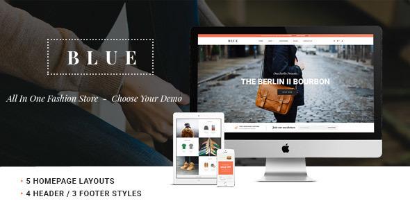 Leo Blue Responsive Prestashop Theme - PrestaShop eCommerce