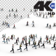 Crowd Running People - VideoHive Item for Sale