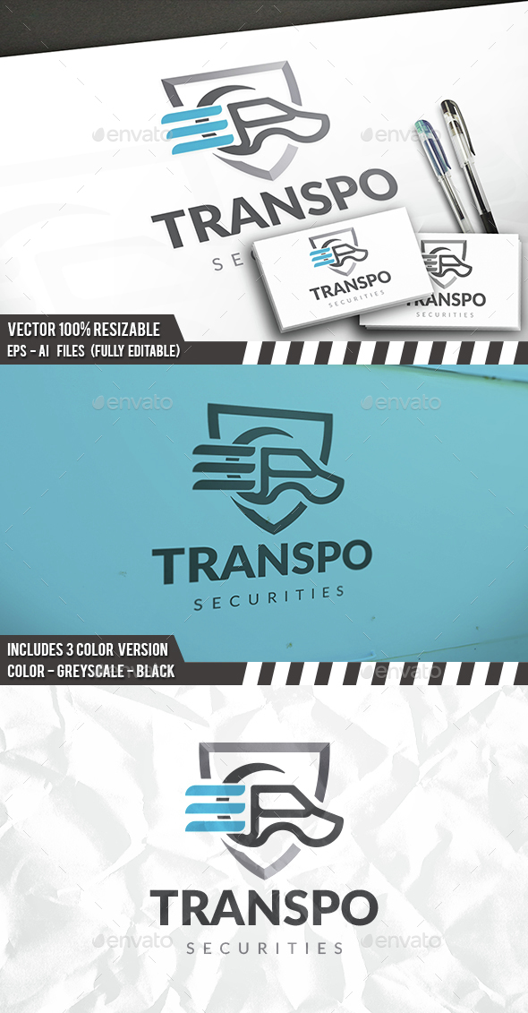Transport Security Logo - Objects Logo Templates
