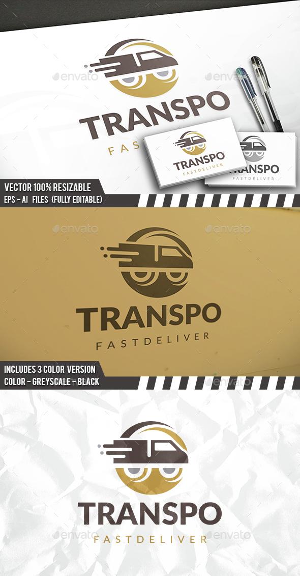 Transport Circle Logo - Objects Logo Templates