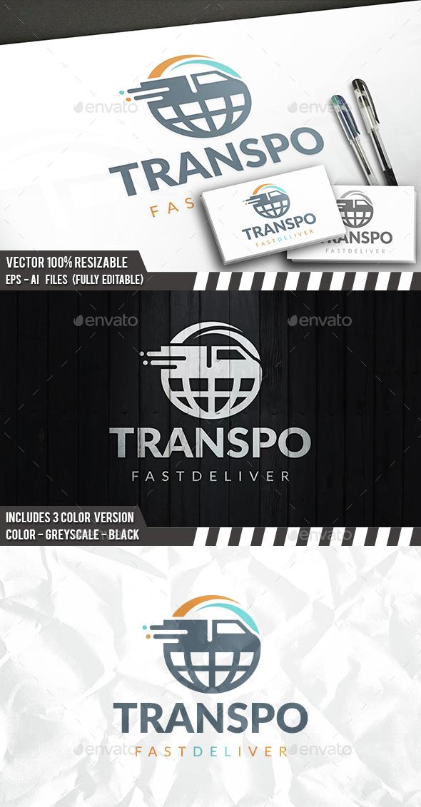 Global Transport Logo - Symbols Logo Templates