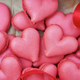 Heart-shaped macarons. Creative decoration for Valentine's Day - PhotoDune Item for Sale