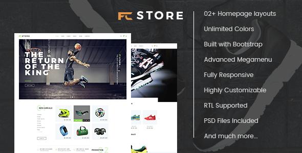 FCstore - Premium Responsive Prestashop Theme