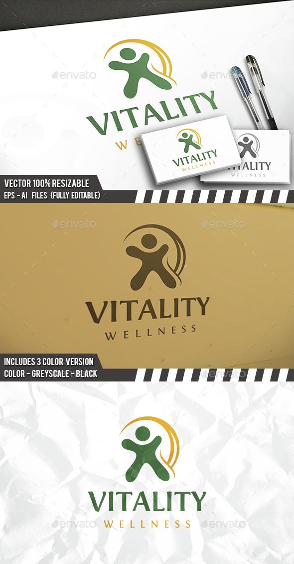 Vitality Logo - Humans Logo Templates