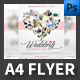 Wedding Photo Studio A4 Flyer Templates - GraphicRiver Item for Sale