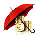 Umbrella and Money.  - GraphicRiver Item for Sale